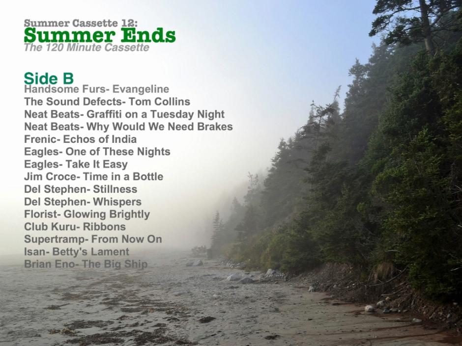 Summer Cassette Side B
